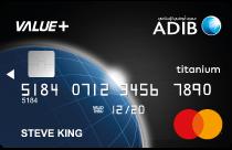ADIB Value+ Credit Card