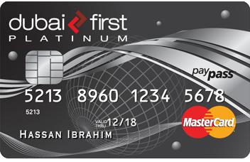Dubai First Platinum Life Card