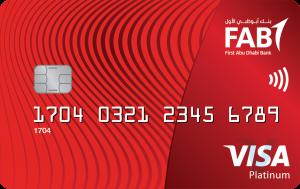 FAB Platinum Visa Credit card