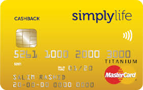 SimplyLife Cashback Credit Card
