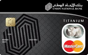 Union National Bank Titanium Credit Card