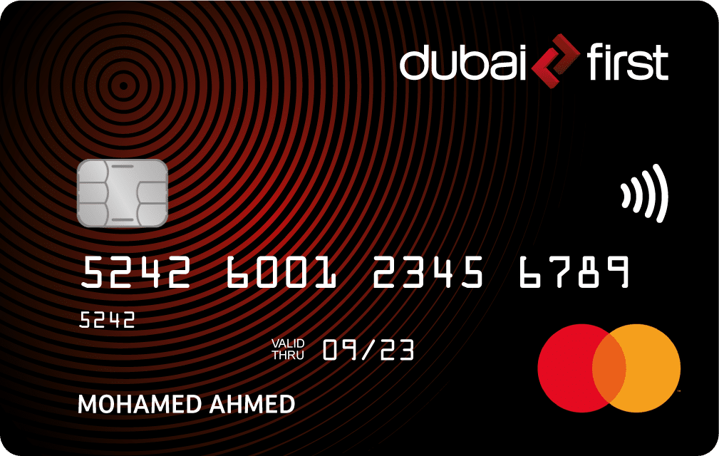 dubai first card activation