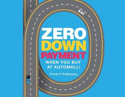 car loan zero down payment uae
